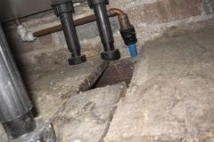 What is under your kitchen sink