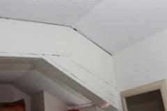 Cracks to ceiling/beams