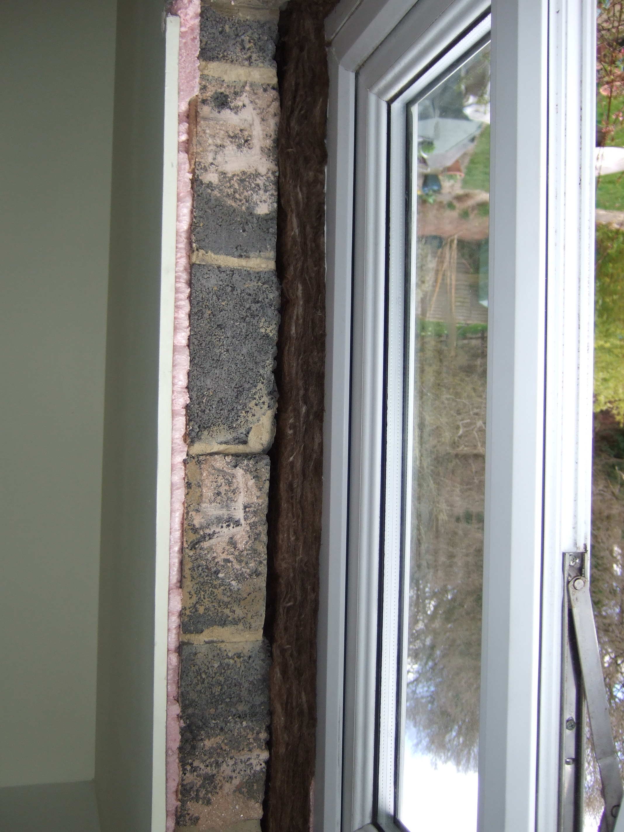 Remedial Work to Window Reveals in dry lined homes